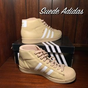Suede Adidas Shoes Size 9 Worn Once